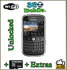New BlackBerry Bold 9000 1GB AT&T GPS WIFI Unlocked Cell Phone Black
