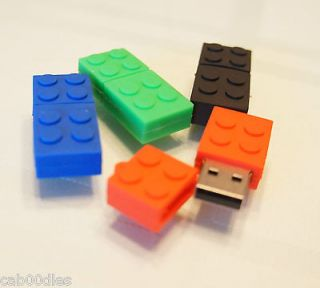 Lego Brick Block Style 4GB USB Flash Drive Memory Stick
