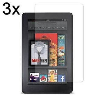 Crystal Clear Screen Protector Film + Cloth for  Kindle Fire