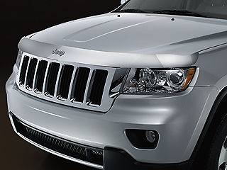 2011 2012 2013 Jeep Grand Cherokee Chrome Bug Shield, Front Air
