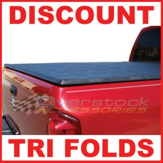 2005 2012 Nissan Frontier 6ft Short Bed TRI FOLD Tonneau Bed Cover
