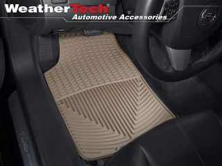WeatherTech® All Weather Floor Mats   Cadillac CTS   2003 2007   Tan