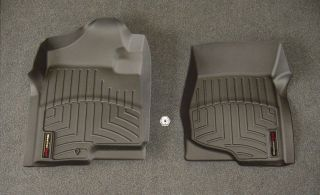 WeatherTech Digital Fit Black Front Floor Mats Liners 07 12 GMC Yukon