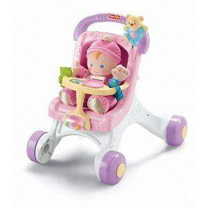 Fisher Price Brilliant Basics Stroll Along Walker in Baby