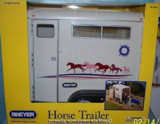 Breyer Model Horses Accessories Traditional Horse Trailer 2012