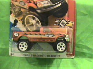 HOT WHEELS FORD F 150 THRILL RACERS  BEACH 12 SUPER RARE HTF MUST SEE