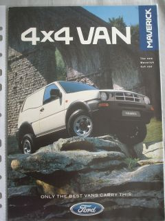 ford 4x4 van in E Series Van