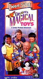 Wee Sing   Grandpas Magical Toys VHS, 1995