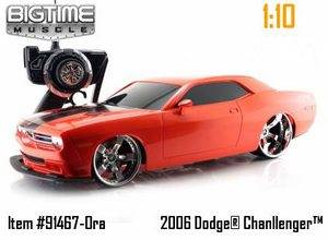 Jada Toys Big Time Muscle Dodge Challenger 2006 Radio Controlled Car