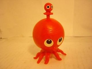 Vintage wind up toy octopus + baby rare sea creature toy antique old