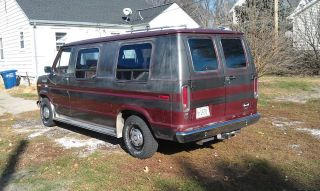 Ford  E Series Van conversion van 1987 E150 Conversion Van, Clean, No