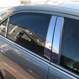 Lexus IS 01 05 Chrome Style Door Pillar Post Polished Stainless 6