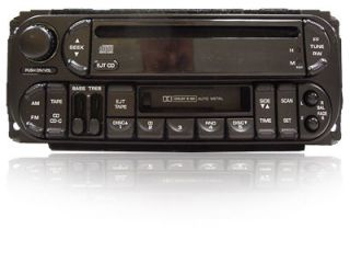 98 99 2000 01 JEEP DODGE Neon CHRYSLER 300M Concorde Radio Cassette CD