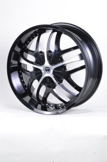 G19 20 GLOSS BLACK WHEELS RIMS DODGE CHARGER AWD CALIBER SRT4 AVENGER