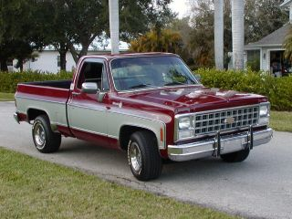 Chevrolet  C 10 Silverado 1980 400HP Hot Rod Chevy pickup truck