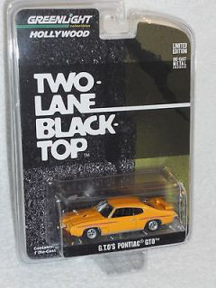 Greenlight 2012 Hollywood Series 3 Two Lane Black Top   G.T.O.s