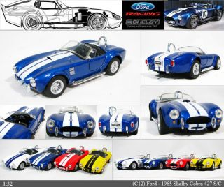 1965 Ford Shelby Cobra 427 132 5 S/C Color selection Diecast Mini