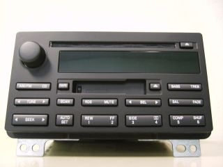 FORD EXPEDITION CD CASSETTE PLAYER RADIO 4L1T 18C868 AB 2003 2004 2005