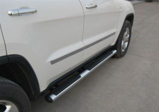 2012 Jeep Grand Cherokee Mopar Chrome Tubular Side Step (Fits Jeep