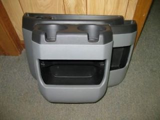 97 10,11,12 Ford Econoline Van Gray Center Console Cup Holder