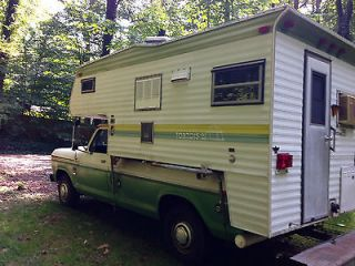 Full featured p/u truck camper 8 ft. bed, Ford Camper Special
