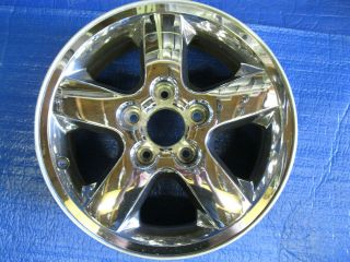 JEEP GRAND CHEROKEE 17 2002 2003 2004 CHROME FACTORY WHEEL RIM 9042