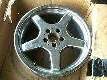 18 chrome ORIGINAL MERCEDES AMG RIM WHEEL, 9 1/2, benz wheel2