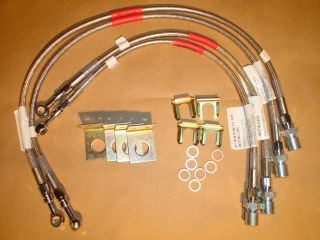 LINCOLN MARK VIII, LSC & BASE BRAKE HOSES 93 97