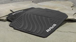 RAV4 ALL WEATHER FLOOR MATS SET OF 2 PT908 4200W 20 (Fits Toyota RAV4