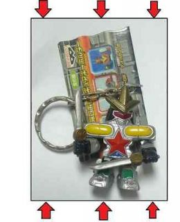 Bandai OhRanger power rangers zeo Megazord Robot KEY RING HOLDER