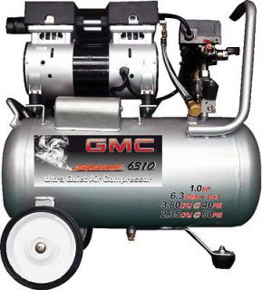 GMC SYCLONE 6310 Ultra Quiet & Oil Free Air Compressor