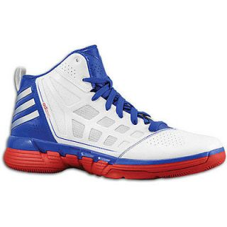 Adidas Adizero Shadow G56566 Red White Blue Basketball Mens US 8.5/UK