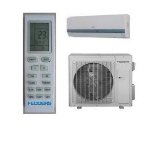 Fedders 9,000 Ductless Mini Split with Heat Pump 22 Seer HD009H15D
