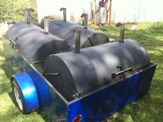 trailer bbq grills in Business & Industrial