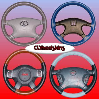 Original One Color Leather Steering Wheel Covers    ALL CARS