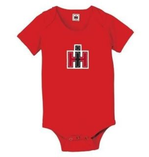 Baby INTERNATIONAL HARVESTER Tractor Onesie Shirt Creeper Size 0 3 6