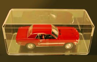 Display Case for 118 Scale Models Cars Bobbleheads Beanies Barbies
