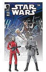 Star Wars Legacy Comic Book #29+Exclusive Action Figure