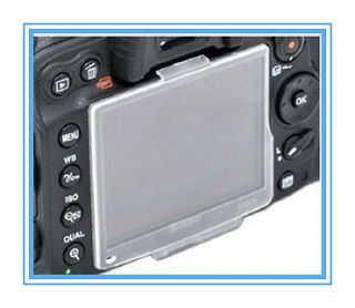 BM 7 Hard Crystal LCD Screen Monitor Cover Protector For Nikon D80