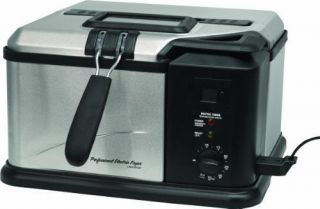 Masterbuilt 20010610 Electric Fish Deep Fryer   1 gal Oil
