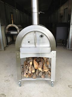 Wood Fired Pizza Oven NEW includes STAINLESS STEEL STAND/cart