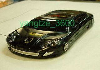 Unlocked F668 Cool black Super Sports car Cell phone Touch screen Dual