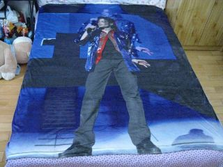 NEW michael jackson MJ Classic This is it Queen Bed Duvet Quilt Cover