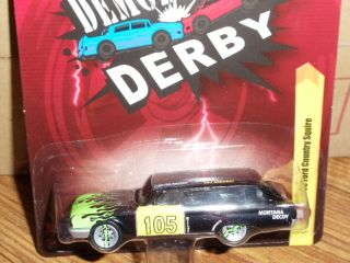Lightning FOREVER 60 Ford Country Squire Wagon Demolition Derby Car