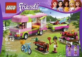 Dollhouse Girls LEGO Friends 3184 Adventure Camper Toy Gift Kids