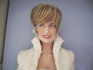 PRINCESS DIANA OF WHALES~ FRANKLIN MINT LTD EDITION PORCELAIN DOLL