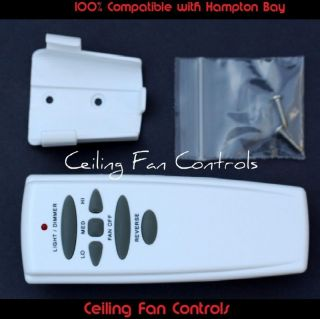 for Hampton Bay REVERSE Ceiling Fan Remote Model UC7078T / FAN HD