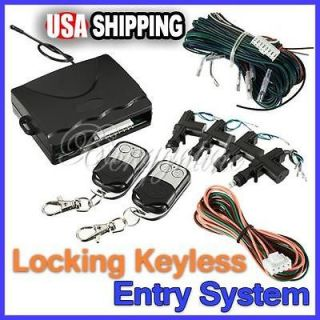Central Alarm Security Locking Power 4 Door Lock Keyless Entry System