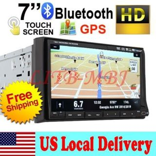 Double Din Car CD/DVD/USB Player GPS Navigation Divx