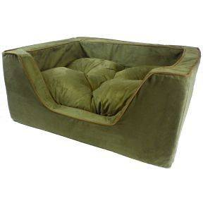 Snoozer Luxury Square Pet Dog Cat Sofa Style Bed NEW